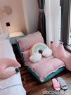 熱賣懶人沙發榻榻米單人飄窗折疊可愛臥室女小躺椅靠背椅子小型電腦椅LX 【618 狂歡】