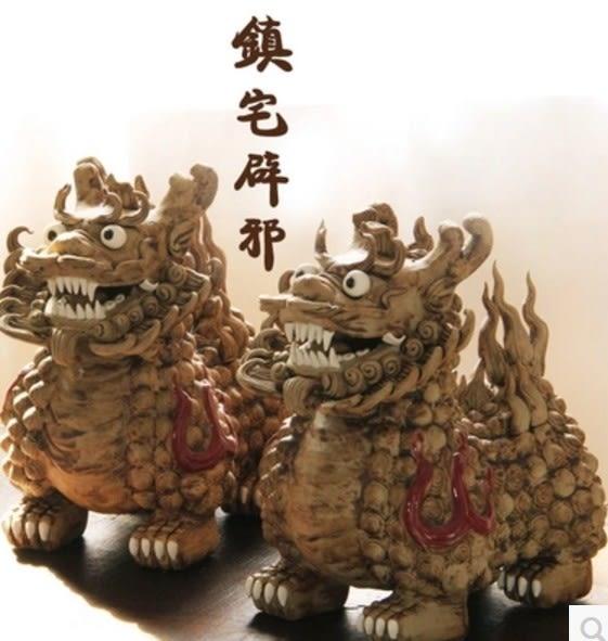 協貿國際貔貅開業陶瓷擺件1入