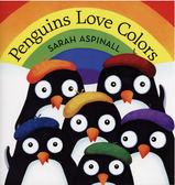 【麥克書店】PENGUINS LOVE COLORS/ 平裝繪本《主題: 基礎認知  顏色》
