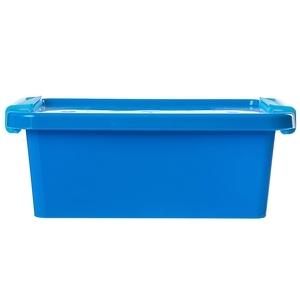 義大利品牌 KIS Bi Box系列 收納箱 附蓋 XS尺寸 3L 藍色