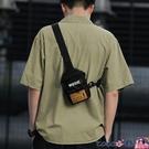 熱賣胸包男 男士斜背包小包超火胸包新款側背包休閒包包輕便男包日系背包【618 狂歡】