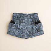 【金安德森】迷彩印花女童褲裙-藍色
