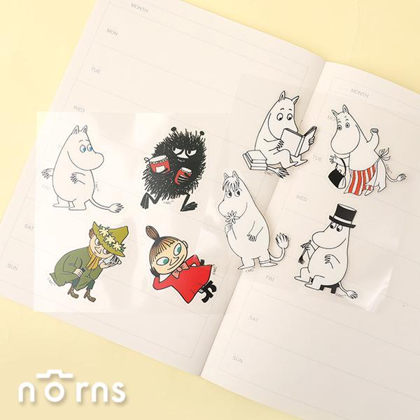 Moomin嚕嚕米防水貼紙 -Norns 正版授權 防水貼紙 行李箱貼 姆明 小不點 阿金