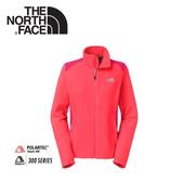 【The North Face 女 刷毛保暖外套《紅毛丹粉/櫻桃粉》】C666/抗寒外套/輕量/輕柔刷毛