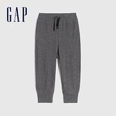 Gap男幼童 布萊納系列 純棉基本款運動休閒褲 670526-碳灰色