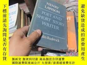 二手書博民逛書店henry罕見lawson poet and short sto