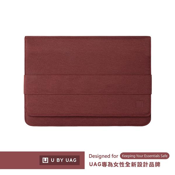 [U] 16吋平板/筆電收納包-紫紅