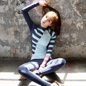 韓國潛水服女套裝 防曬水母服衣浮潛服沖浪服分體長袖長褲游泳衣