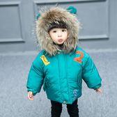 女童棉衣新款韓版加厚真毛領羽絨棉面包服冬裝女寶寶冬裝外套 CY潮流站