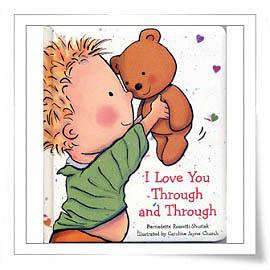 【麥克書店】I LOVE YOU THROUGH AND THROUGH /軟皮繪本《母親節》