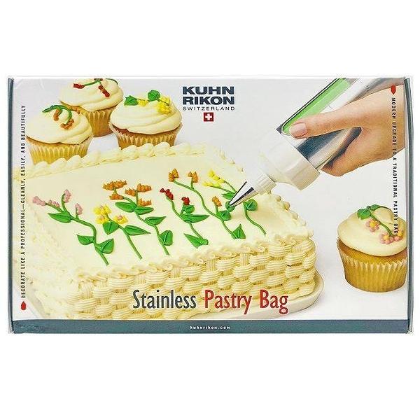 瑞士 Kuhn Rikon Stainless Pastry Bag 蛋糕擠花器  -超級baby