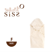 【SISSO有機棉】夏綠蒂皇家緹花空氣棉包巾(四季款)
