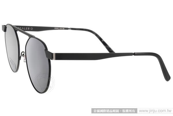 STEALER 太陽眼鏡 HORIZON C01M (黑) 前衛時尚圓框水銀鏡面款 # 金橘眼鏡