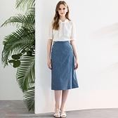 IENA 2021 Summer #1272012 口袋鈕扣裝飾直紋窄裙