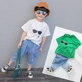 童裝男童夏裝套裝2018新款中小兒童夏季3歲寶寶6韓版短袖兩件套【店慶滿月好康八折】