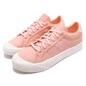 【六折特賣】adidas 休閒鞋 Everyn W 粉紅 白 復古奶油底 金標 厚底 餅乾鞋 女鞋【PUMP306】 B37450