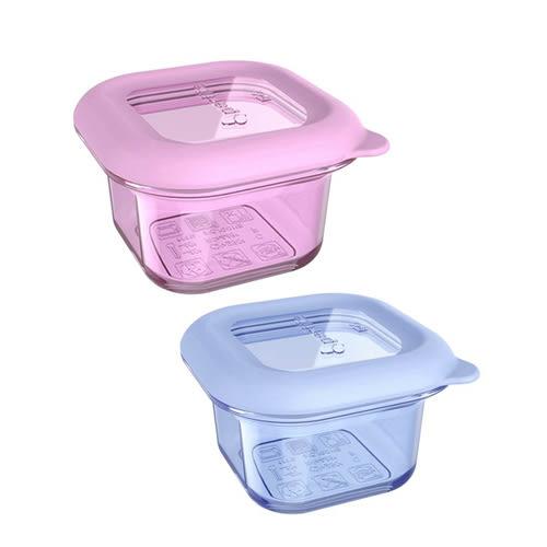 Partita 帕緹塔-全矽膠保鮮輔食盒*2(180ml)(粉色/藍色)[衛立兒生活館]