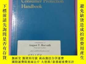 二手書博民逛書店consumer罕見protection handbookY26