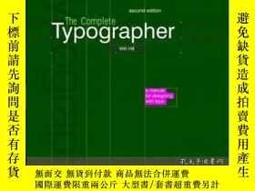 二手書博民逛書店The罕見Complete TypographerY364682 Hill, Will Prentice Ha