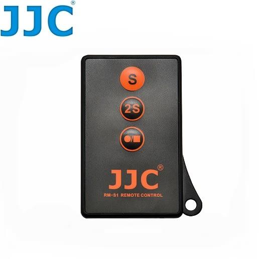 我愛買JJC可錄影紅外線遙控器RM-S1相容索尼Sony原廠RM-DSLR2遙控器A6000 a7 a7r a7s a7ii a7rii a7sii a77 a77ii II