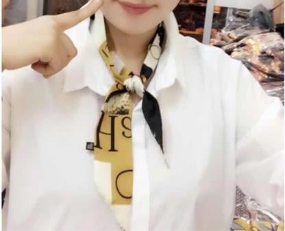 [協貿國際]  女士領結綁包包絲巾小絲帶領巾 (1入)