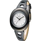 Epico 橢圓系列復古潮流腕錶 EP-3BKBKL