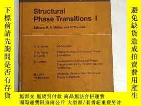 二手書博民逛書店structural罕見phase Transitions I