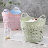大號塑料臟衣籃衣簍浴室洗衣籃家用玩具衣物收納籃臟衣服收納筐印象家品