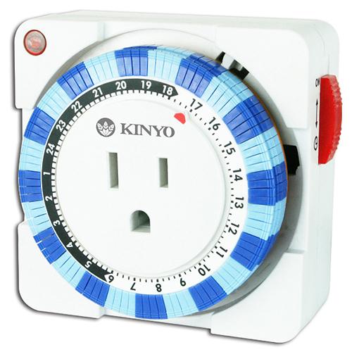 KINYO 耐嘉 TM-2 24小時 機械式 多時段 定時器