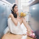 【美容護膚場考試用】WB毛巾料白色美容衣.浴裙-單件[53983]