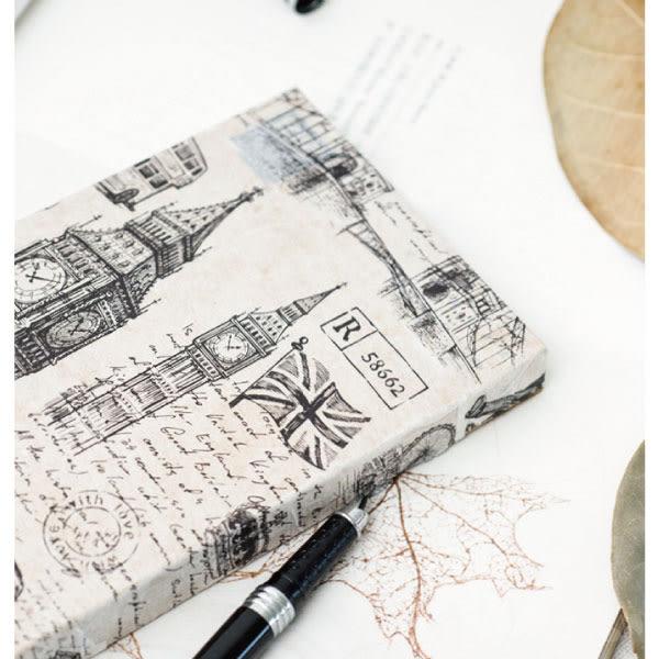 紙膠帶│黑白城市速寫超寬版和紙膠帶