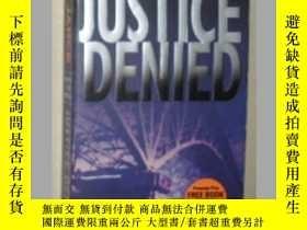 二手書博民逛書店【英文原版書】罕見Justice Denied [ J. A.