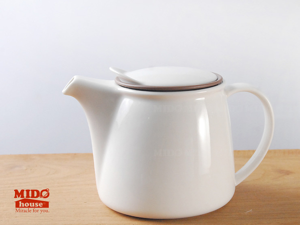 日本KINTO MVW-22387 BRIM 茶壺 450ml 灰色《Midohouse》