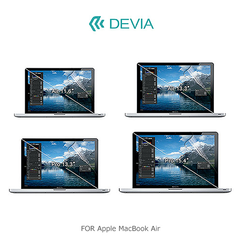 DEVIA Apple MacBook Air 11 吋 螢幕保護貼 超清螢幕貼 靜電吸附 電腦螢幕貼