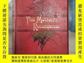 二手書博民逛書店孤本珍品,英國小說家Grace罕見Aguilar 成名著作《The mother s recompense》母親