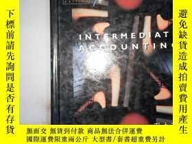 二手書博民逛書店INTERMEDIATE罕見ACCOUNTING、Y198833