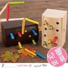 兒童早教顏色認知 趣味抓蟲玩具...