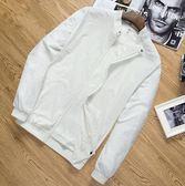 防曬衣服男春夏季修身青少年夾克薄款透氣男士外套運動戶外皮膚衣  後街五號