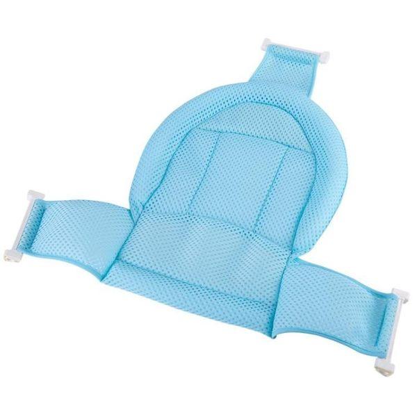 嬰兒浴兜 嬰兒洗澡網寶寶洗澡神器防滑通用新生兒浴盆架沐浴架浴網兜可坐躺