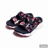 SKECHERS 女 MAX CUSHIONING SANDAL 拖鞋 夏日款 - 140119NVMT