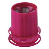 金時代書香咖啡  Tiamo UFO-180 不鏽鋼 滴漏濾杯 濾網 1-2人份 (桃紅)  HG2311