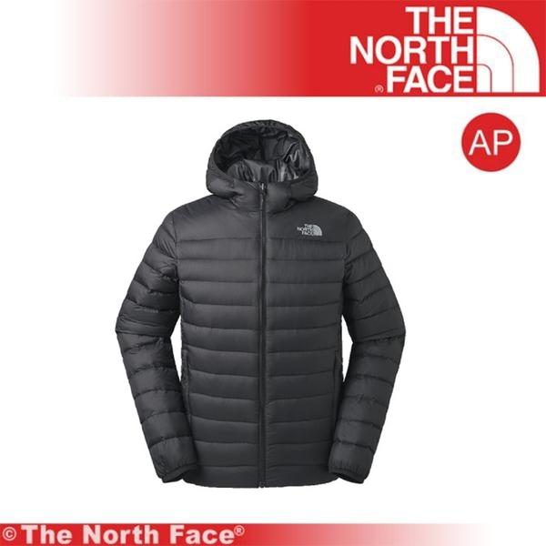 【The North Face 男 雙面兜帽羽絨外套《黑》】3KTE-JK3/保暖外套/連帽外套/戶外登山