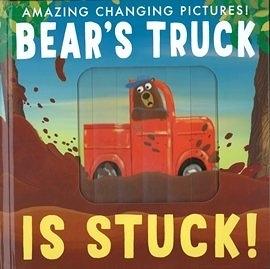 【麥克書店】 BEARS TRUCK IS STUCK! 神奇百頁拉拉書 ※兒童節限量特惠※