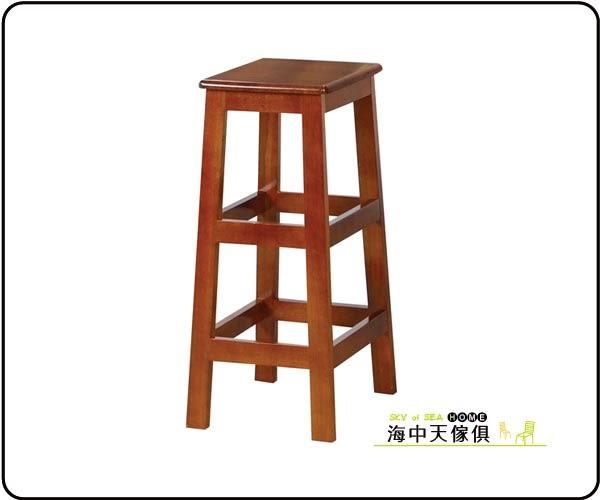 {{ 海中天休閒傢俱廣場 }} F-02 摩登時尚 餐椅系列 366-15 田園油木方高板凳(2.5尺)