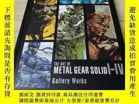 二手書博民逛書店The罕見Art of Metal Gear Solid I-I
