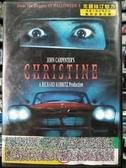 挖寶二手片-Z82-032-正版DVD-電影【克麗絲汀魅力】-史蒂芬金 驚悚原著改編(直購價)經典片 海報是
