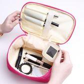 旅行大容量少女心化妝包專柜贈品化妝箱便攜韓國簡約收納包洗漱包【博雅生活館】