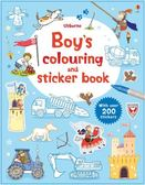 Boy's Colouring & Sticker Book 男孩的著色貼紙書