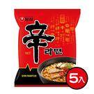 韓國農心 辛拉麵 泡麵5入一袋組 [KR014830]千御國際