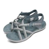 Merrell 拖鞋 District Muri Lattice 藍 灰 女鞋 戶外 耐磨 涼拖鞋 運動鞋【ACS】 ML000796